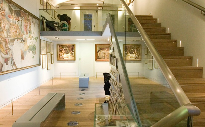 Stanley Spencer gallery interior