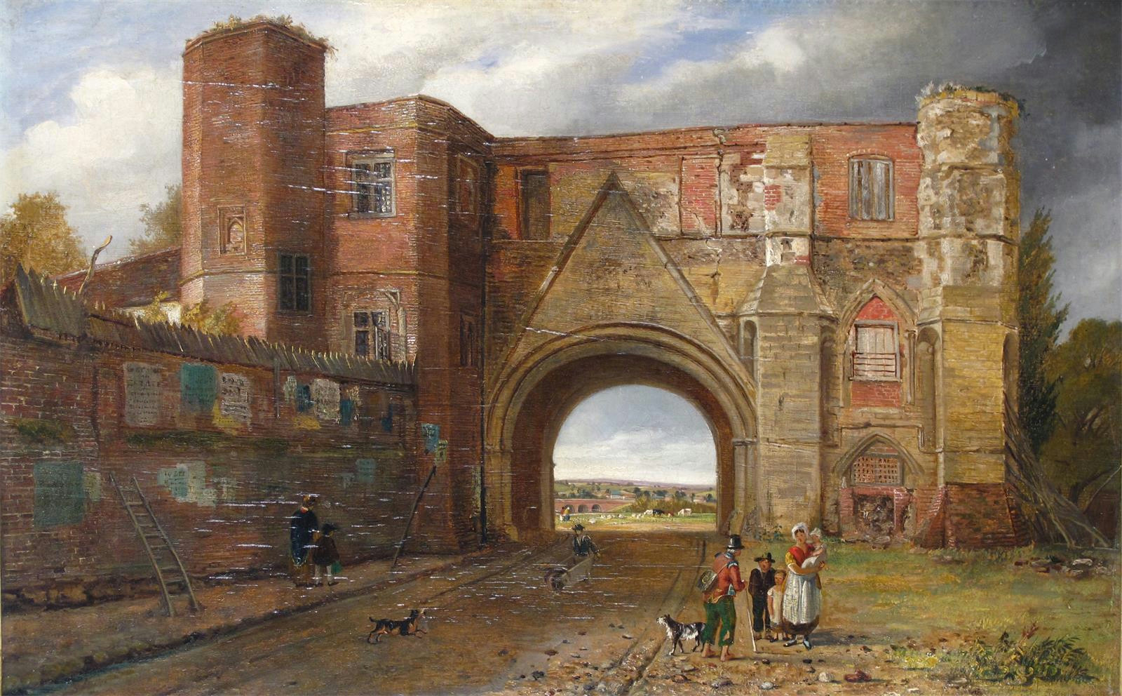 Reading_Abbey_gateway,_by_Rev._Thomas_James_Judkin_(1788-1871)